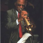 With Clark Terry