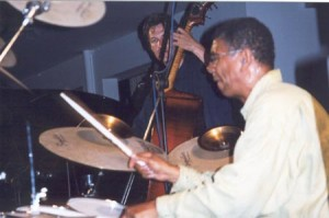 With Jack deJohnette